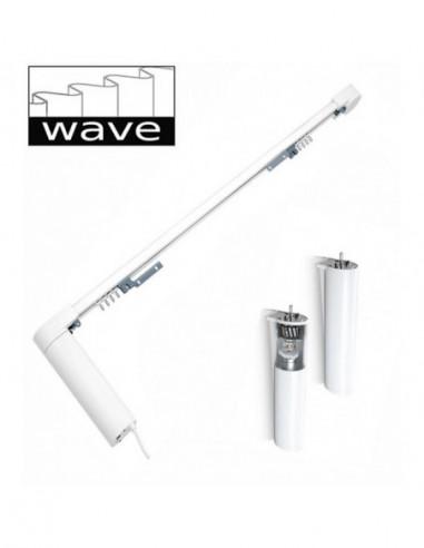 Karnisz elektryczny Comfort Line Wave sterowany pilotem