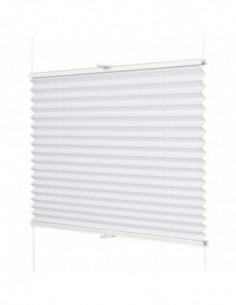 Plisa okienna bezinwazyjna Cube-Termo biały