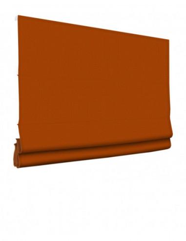 Roleta elektryczna rzymska 24V na smartfon i automatykę Layla pomarańczowy klasyczna