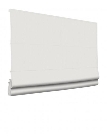 Roleta elektryczna rzymska 230V na smartfon i automatykę Layla biały klasyczna