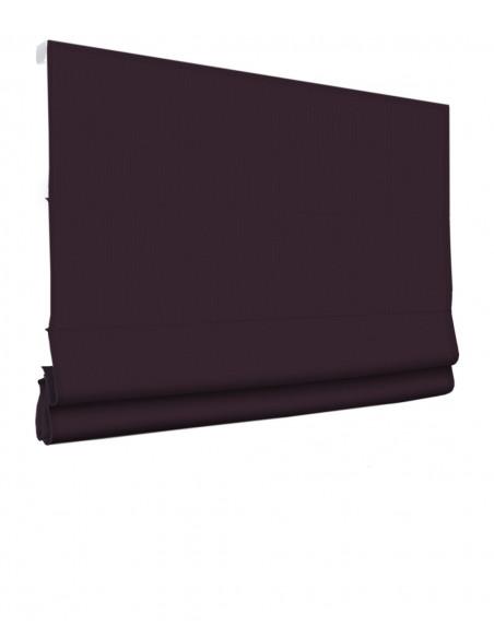 Roleta elektryczna rzymska 230V na smartfon i automatykę Layla fioletowy klasyczna