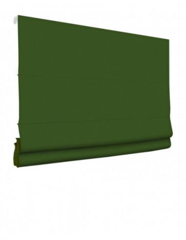 Roleta elektryczna rzymska 230V na smartfon i automatykę Layla zielony klasyczna