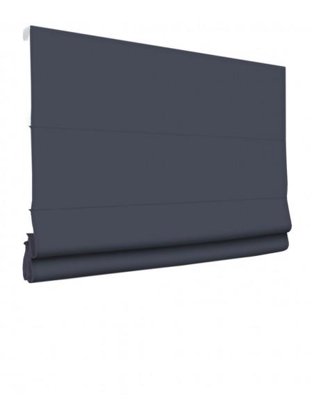 Roleta elektryczna rzymska 230V na smartfon i automatykę Magnato stalowy ciemny klasyczna