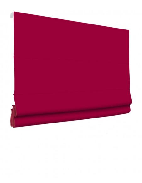 Roleta elektryczna rzymska 230V na smartfon i automatykę Magnato czerwony klasyczna