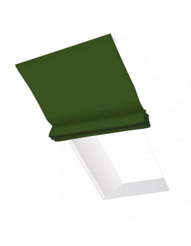 Roleta elektryczna dachowa 12V na pilota Layla zielony