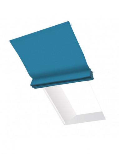 Roleta elektryczna dachowa 24V na smartfon i automatykę Heaven niebieski