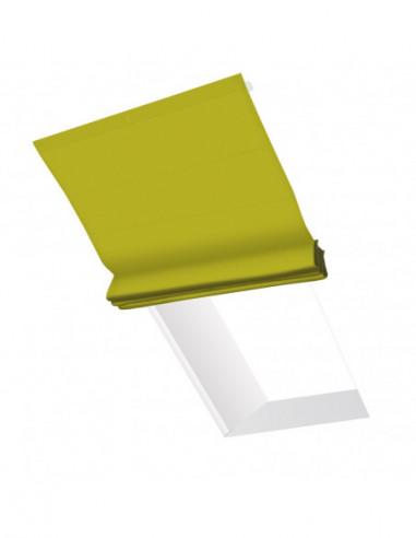 Roleta elektryczna dachowa 24V na smartfon i automatykę Heaven zielony