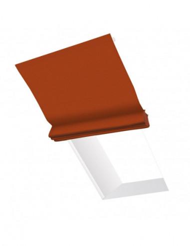 Roleta elektryczna dachowa 24V na smartfon i automatykę Layla pomarańczowy