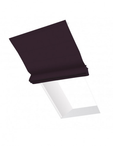 Roleta elektryczna dachowa 24V na smartfon i automatykę Layla fioletowy