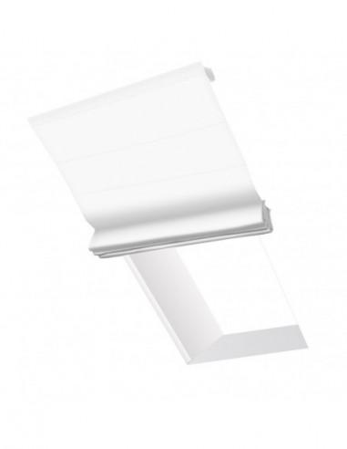 Roleta elektryczna dachowa 230V na smartfon i automatykę Layla biały optyczny