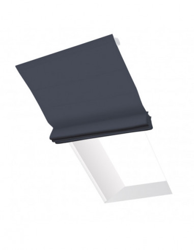 Roleta elektryczna dachowa 230V na smartfon i automatykę Magnato stalowy ciemny
