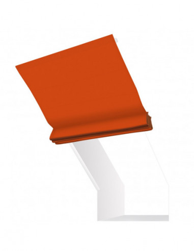 Roleta elektryczna kolankowa 12V na pilota Heaven pomarańczowy