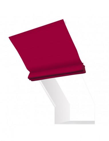 Roleta elektryczna kolankowa 12V na pilota Magnato czerwony