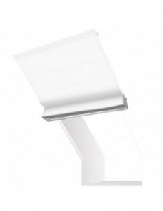 Roleta elektryczna kolankowa 24V na smartfon i automatykę Heaven biały