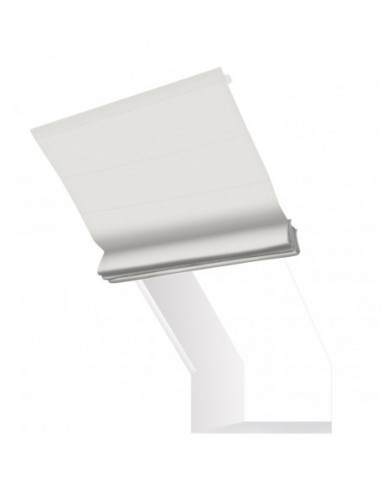 Roleta elektryczna kolankowa 24V na smartfon i automatykę Layla biały