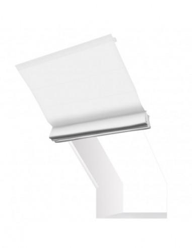 Roleta elektryczna kolankowa 24V na smartfon i automatykę Magnato biały