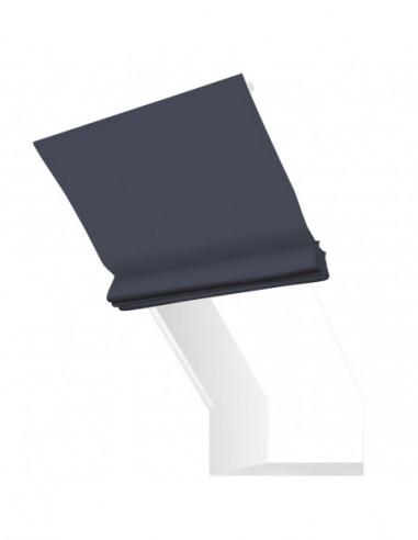 Roleta elektryczna kolankowa 24V na smartfon i automatykę Magnato stalowy ciemny