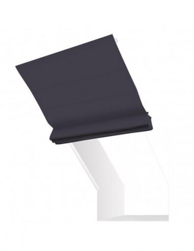 Roleta elektryczna kolankowa 24V na smartfon i automatykę Magnato stalowa wiśnia
