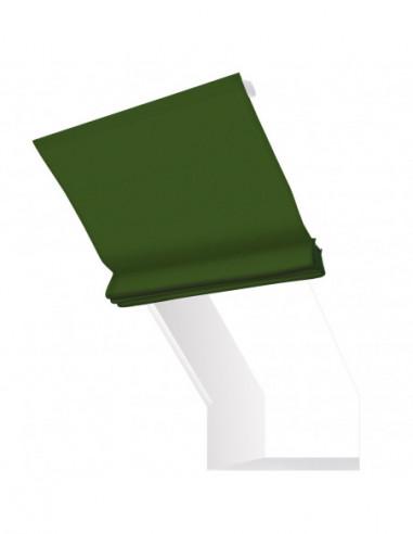 Roleta elektryczna kolankowa 230V na pilota Layla zielony