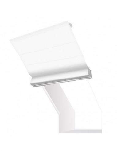 Roleta elektryczna kolankowa 230V na smartfon i automatykę Layla biały optyczny